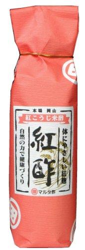 河野酢味噌 紅こうじ米酢 瓶500ml