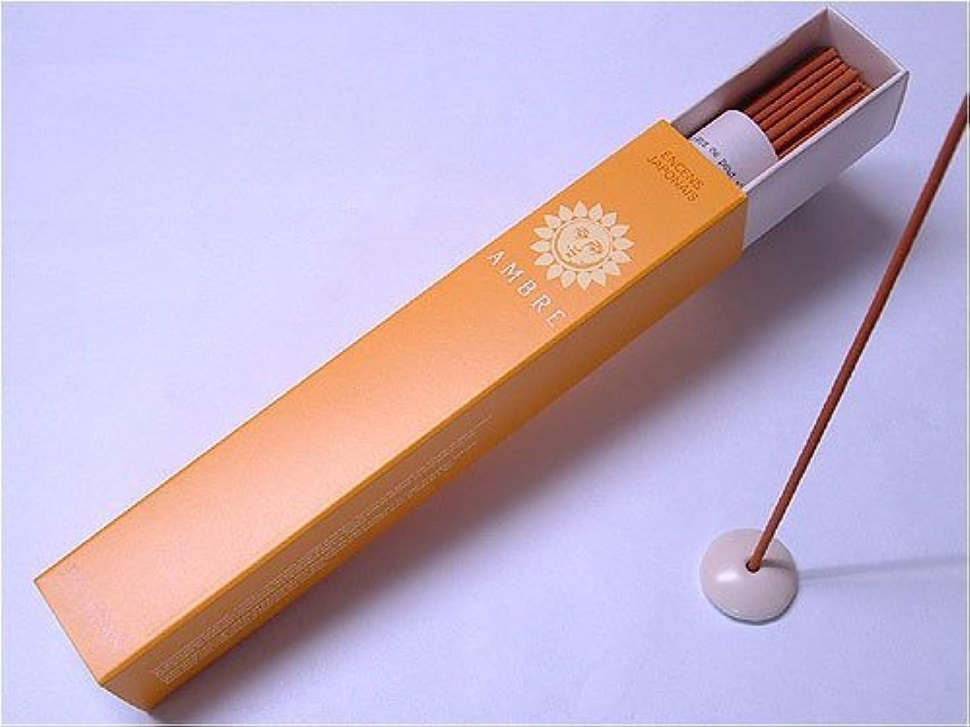 メディアチャンバー制約ESTEBAN(エステバン) style primrose bordier スティック 40本入 「アンバー -AMBRE-」 4902125989924