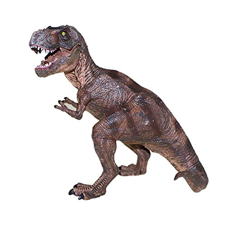 Aylincool子供のおもちゃティラノサウルスレックス恐竜モデルプラスチックアクションフィギュア玩具キッズ誕生日プレゼント