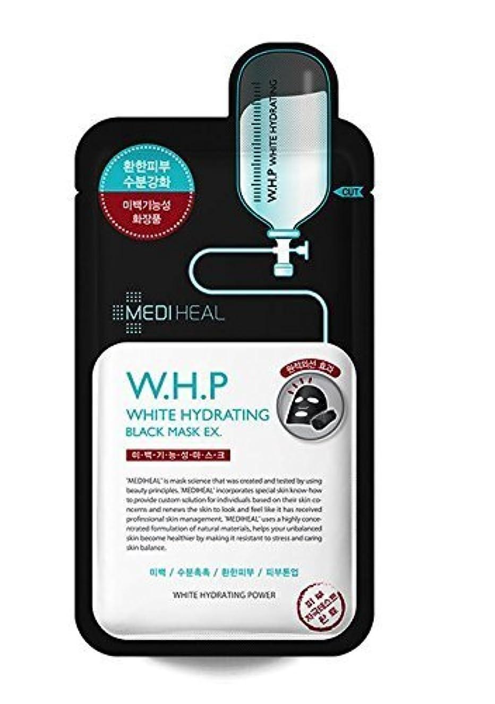 メンテナンス家少なくともMediheal 10の、w.h.p白水和ブラックマスクEX、25ミリリットル、パック [並行輸入品]