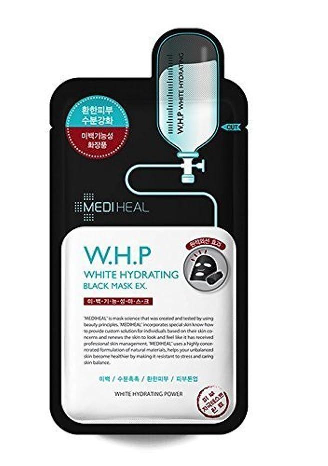 八百屋カートリッジ紳士Mediheal 10の、w.h.p白水和ブラックマスクEX、25ミリリットル、パック [並行輸入品]