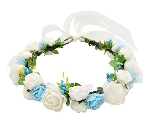 ハナ(HANA) お花の 冠 花冠 ヘッドドレス 髪飾り ヘ...