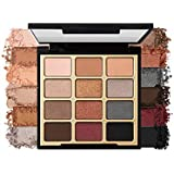 Milani Bold Obsessions Eyeshadow Palette (0.48 Ounce) 12 Cruelty-Free Jewel-Tone Matte & Metallic Eyeshadow Colors for Long-Lasting Wear