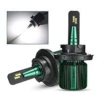 Carrfan 車 LEDヘッドライト 電球LEDライト ランプ 10000LM 6500K オールインワン 変換キット