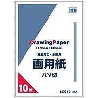 == 業務用20セット == アピカ / 8つ切画用紙 / 8ZG10 / 10枚