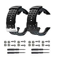 Picowe 2018 Suunto Watch Band Strap, Soft Rubber Watchbands Replacement Kits, Watch Accessories Suunto Ambit 1/2/2S/2R/3Sport/3Run/3PEAK