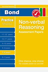 Bond Non-verbal Reasoning Assessment Papers 7-8 years Paperback
