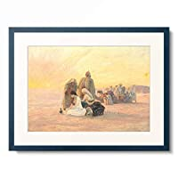Otto Pilny 「The Desert Sunrise. 1904」 額装アート作品