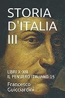 STORIA D'ITALIA III: IL PENSIERO ITALIANO 15