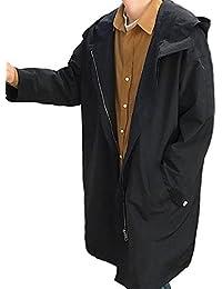 [Nana_Collection(ナナコレクション)] 春 オーバーサイズ フード 無地 薄手 ゆったり ジャケット コート 男性