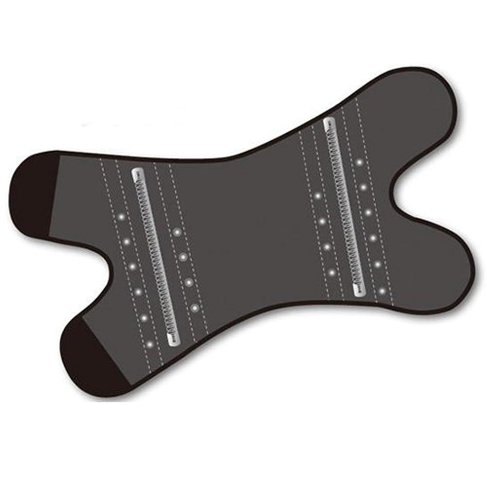あえて処理側面磁気膝サポーター ペガサス ブラックLサイズ