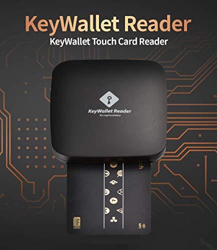 KeyWallet リーダー キーウォレット タッチカード リーダー デバイス ハードウェア BTC LTC ETH BCH