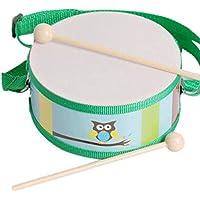 教育用楽器おもちゃギフトドラムウエストドラムパターンランダム