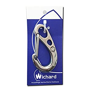 Wichard(ウイチャード) 75mm Safty snap hook (HR) セーラーカラビナ2381