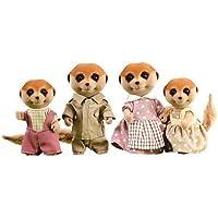 Sylvanian Families Meerkat Family by Flair [並行輸入品]