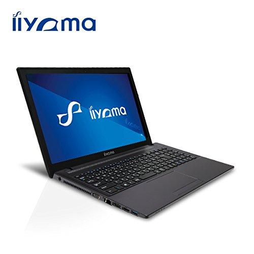 iiyama 15H7100-i7-LSM [Windows 7 Pro搭載](15.6型 フルHD液晶/Core i7-4710MQ/1TB/8GB/DVD/GeForce GT 850M)ノートパソコン