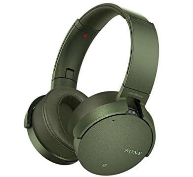 ソニー SONY ワイヤレスノイズキャンセリングヘッドホン 重低音モデル MDR-XB950N1 : Bluetooth/専用スマホアプリ対応 グリーン MDR-XB950N1 G