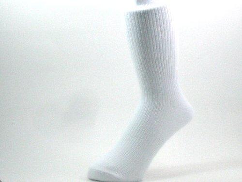 10足セット 24-26cmメンズ(男性)白靴下 抗菌防臭加工 サポーター ホワイト ソックス