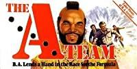 The A-Team B. A. Lends a Hand in the Race for the Formula Board Game