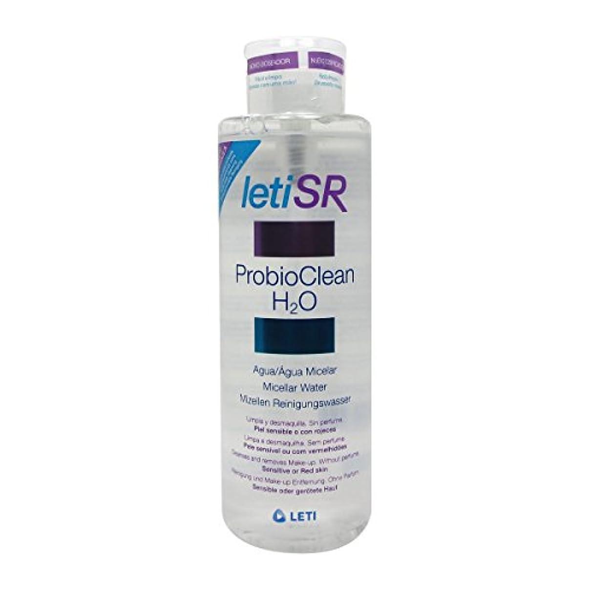 煩わしい誘発する瀬戸際Leti Sr Probioclean H2o Micellar Water 500ml [並行輸入品]