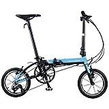 ダホン(DAHON) K3 ブルー 折りたたみ自転車 軽量 14インチ 19K3BLBK00