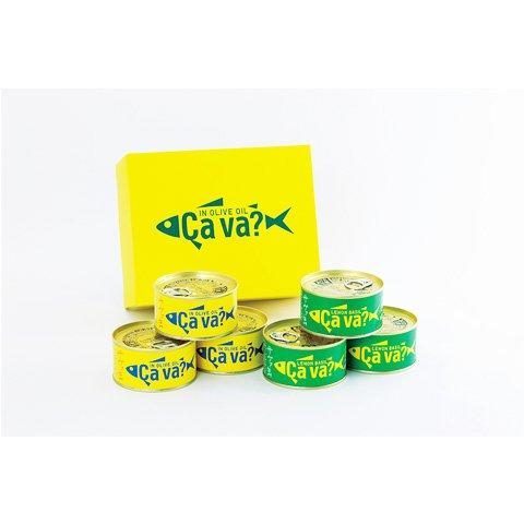 国産サバのオリーブオイル漬け サヴァ缶アソートセット(オリーブオイル漬け 3缶、レモンバジル味 3缶)