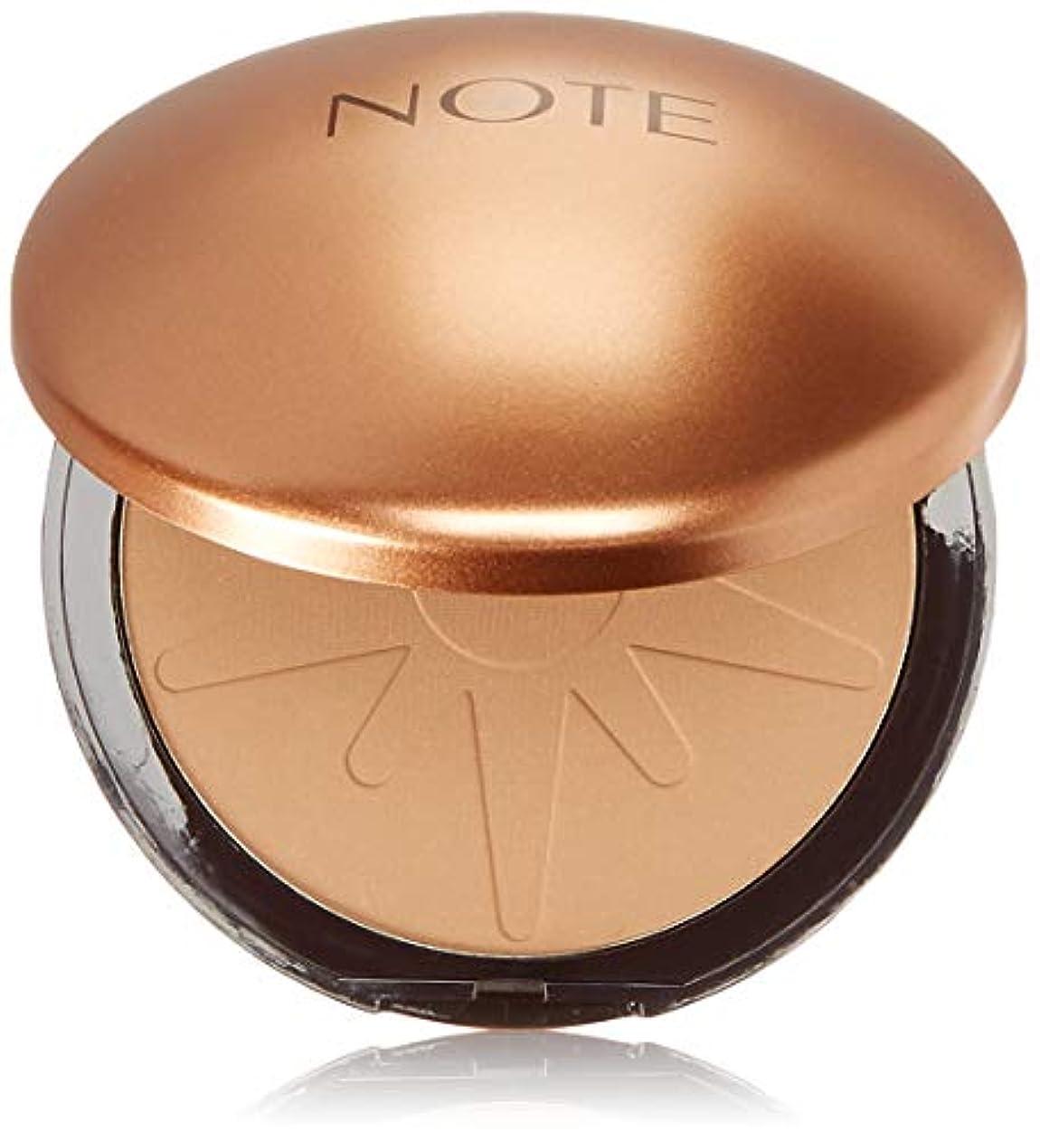明るくする追い越す自治NOTE Cosmetics ブロンジングパウダー、1.1オンス 10号