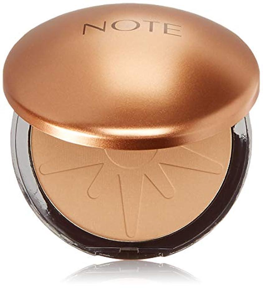 不十分なエンディング病気のNOTE Cosmetics ブロンジングパウダー、1.1オンス 10号