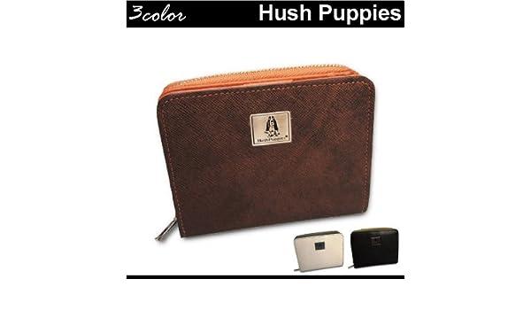 f78fa449b510 Amazon   Hush Puppies(ハッシュパピー)二つ折り財布 ラウンド式[hp1657] チョコ   Hush Puppies( ハッシュパピー)   財布