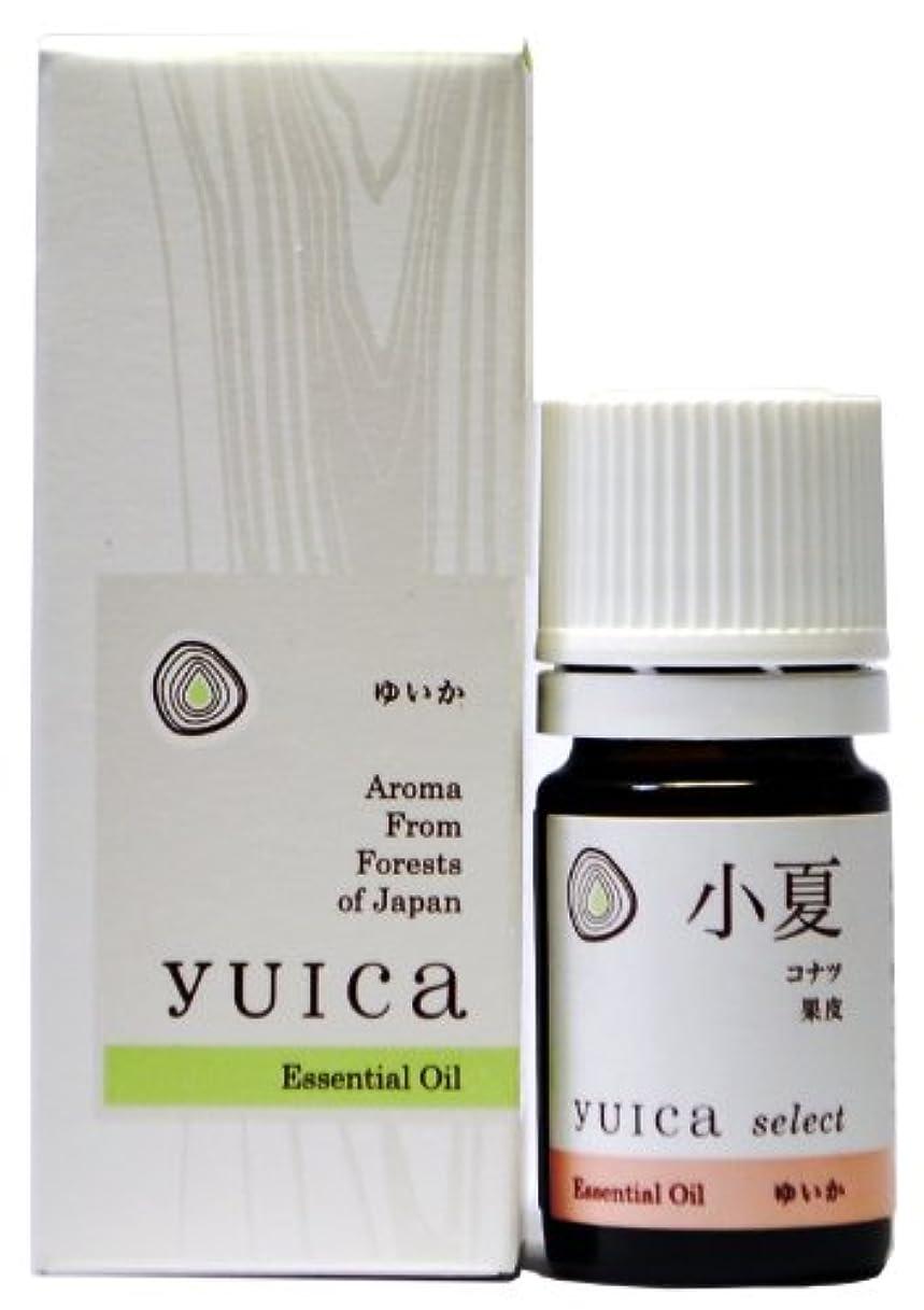 元の存在する真夜中yuica select エッセンシャルオイル コナツ(果皮部) 5mL