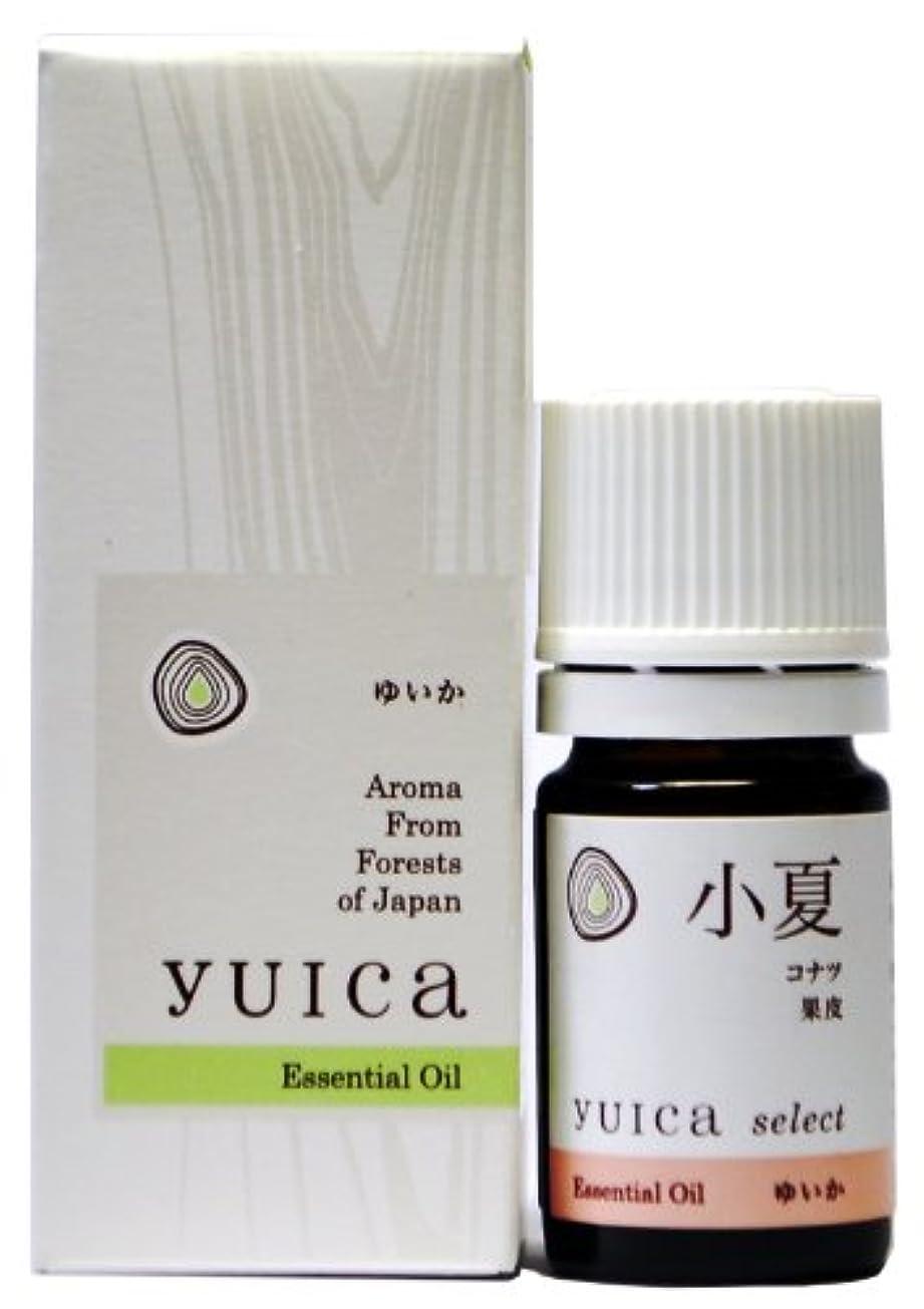 戸口熟達排泄物yuica select エッセンシャルオイル コナツ(果皮部) 5mL
