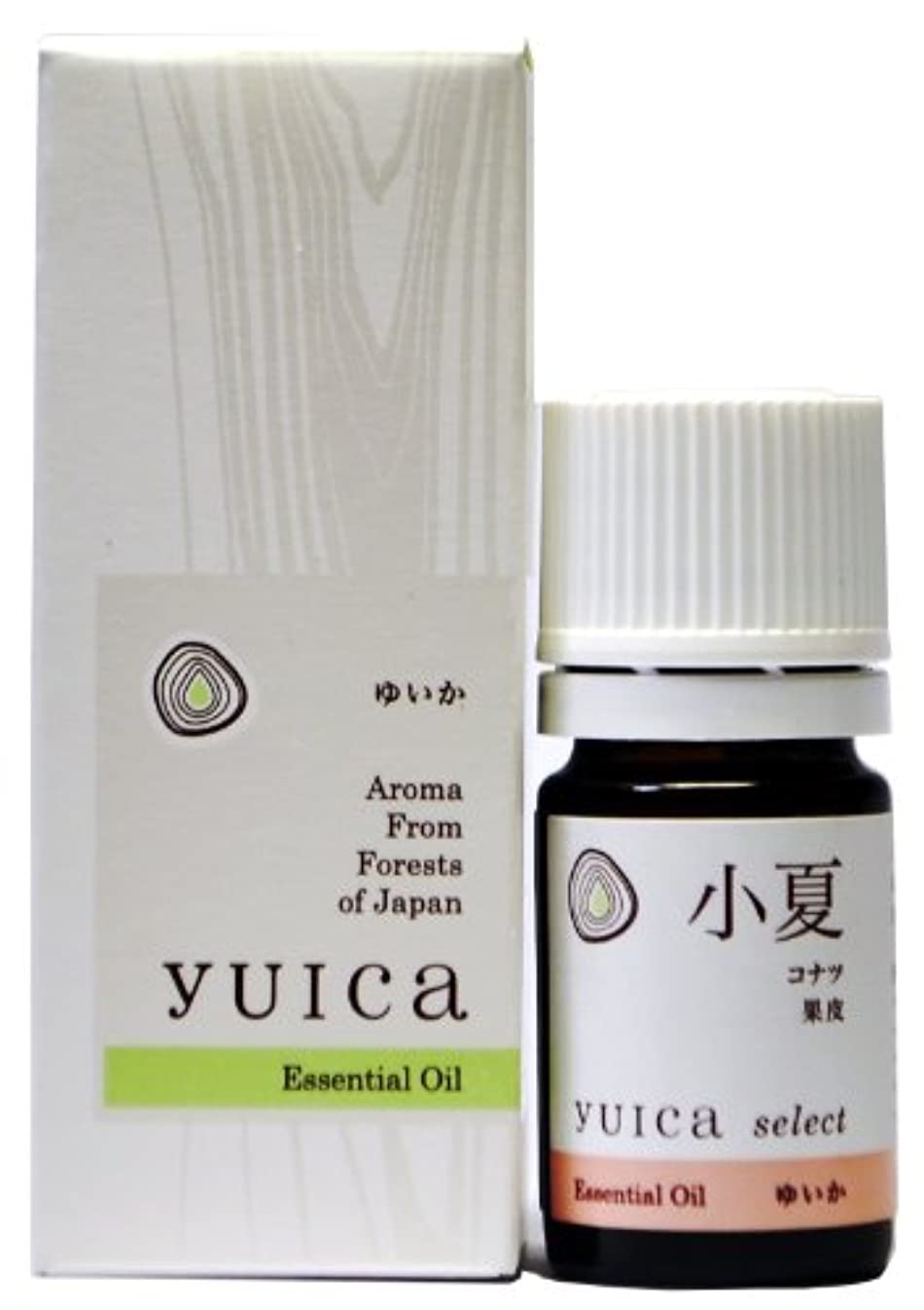 全部クリームきらめくyuica select エッセンシャルオイル コナツ(果皮部) 5mL