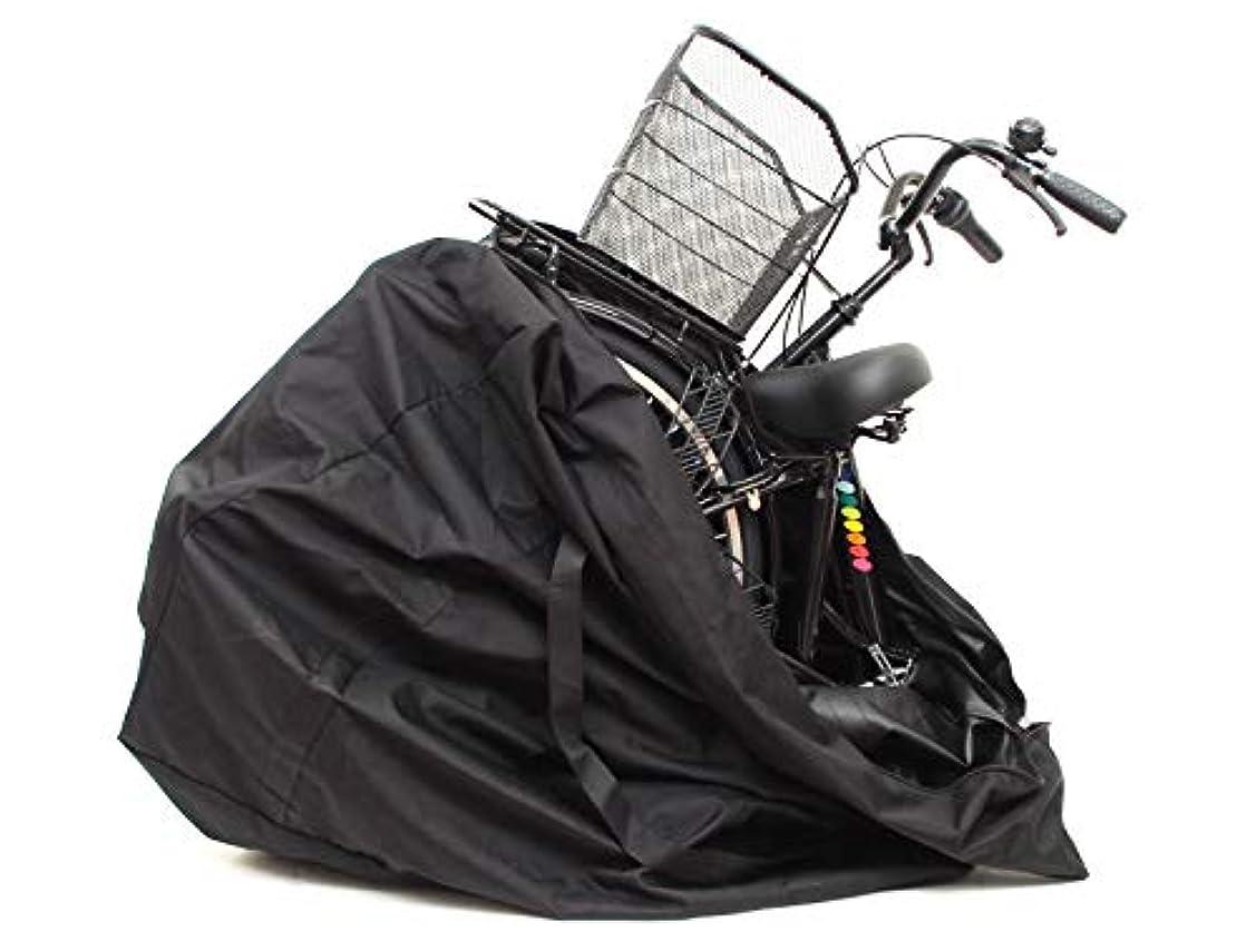 珍味シーズンパラシュート26インチ クロスバイク ロードバイク 自転車 輪行バッグ キャリングバッグ Lサイズ