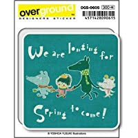 OGS-0605 吉田ユウスケ longing for spring アーティストグッズ イラストレーターステッカー