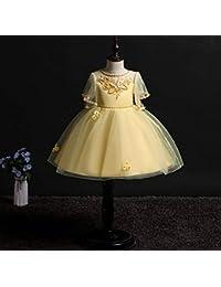 113ff927ea34f Amazon.co.jp  イエロー - フォーマル   ガールズ  服&ファッション小物