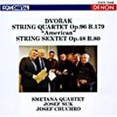 DENON 1980年録音 スメタナQによるドヴォルジャークの弦楽四重奏曲第12番の商品写真