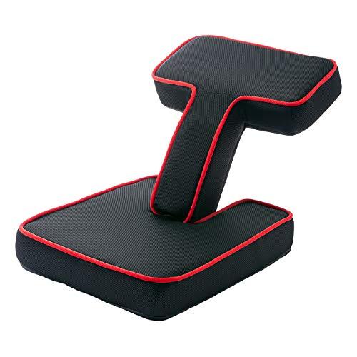 サンワダイレクト ゲーミング座椅子 2WAY 肘乗せ & 背もたれ 大型肘置き 角度調整 メッシュ 150-SNCF016
