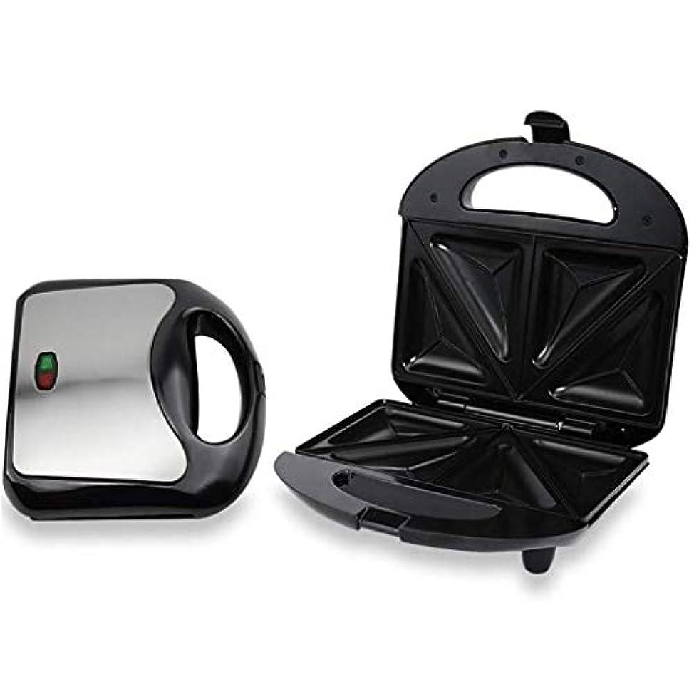 推定する許される記念サンドイッチメーカー、両面加熱ベーキングベーキング用のトレイと加熱様々な食品とパニーニマシンステンレス鋼サンドイッチメーカー YHLZ