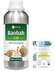 Baobab (Adansonia Digitata) Natural Pure Undiluted Uncut Carrier Oil 1000ml/33.8 fl.oz.