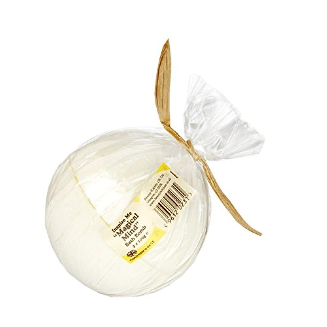 ヘルパー腹痛タンパク質Beauty Kitchen Inspire Me Magical Mind Bath Bomb 2 x 100g (Pack of 2) - 美しさのキッチンは私に魔法心風呂爆弾2×100グラムを鼓舞します (x2)...