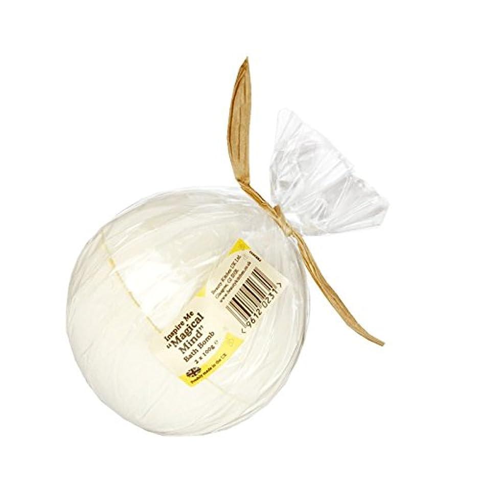 面倒可聴浴室Beauty Kitchen Inspire Me Magical Mind Bath Bomb 2 x 100g (Pack of 6) - 美しさのキッチンは私に魔法心風呂爆弾2×100グラムを鼓舞します (x6)...