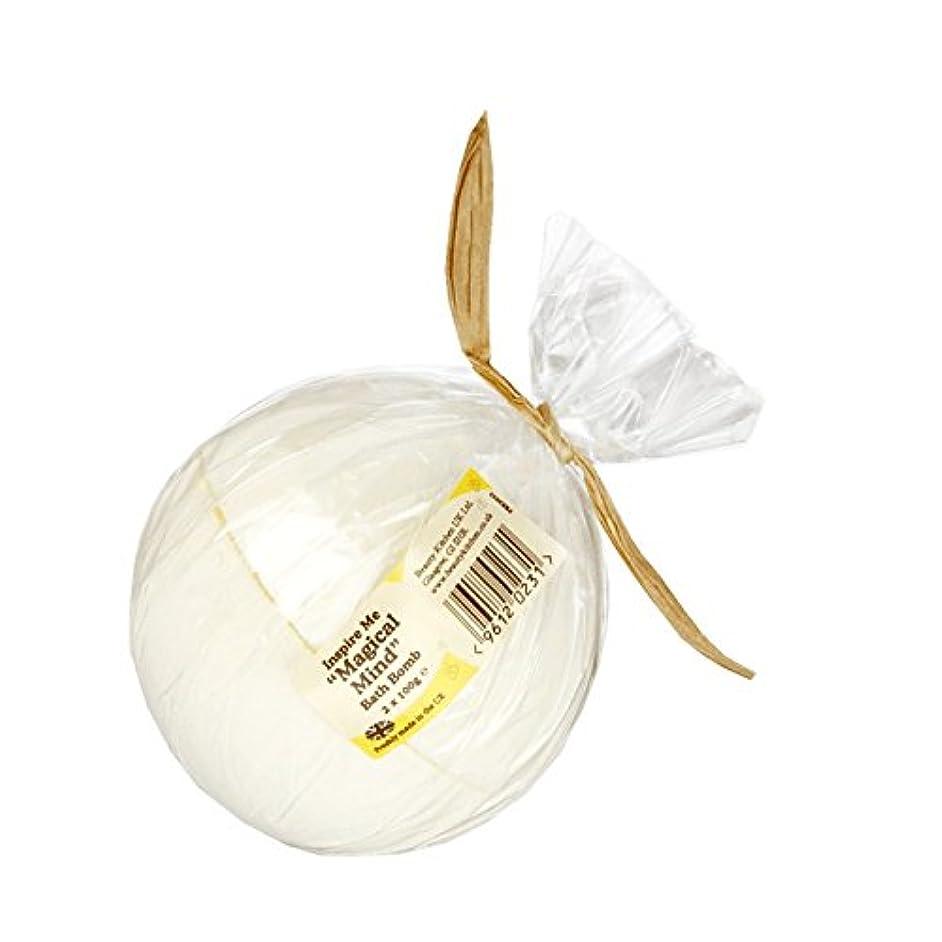 海峡ひも宣言気分Beauty Kitchen Inspire Me Magical Mind Bath Bomb 2 x 100g (Pack of 2) - 美しさのキッチンは私に魔法心風呂爆弾2×100グラムを鼓舞します (x2)...