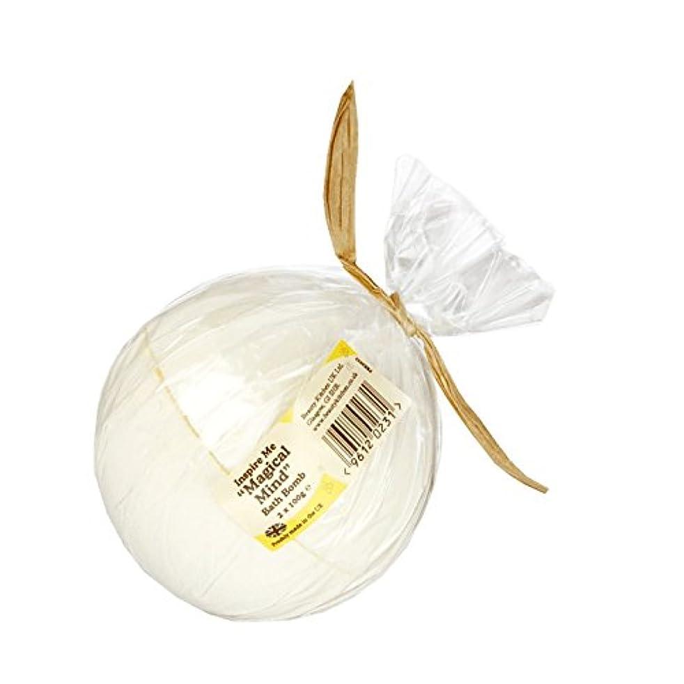 把握丁寧悪行Beauty Kitchen Inspire Me Magical Mind Bath Bomb 2 x 100g (Pack of 2) - 美しさのキッチンは私に魔法心風呂爆弾2×100グラムを鼓舞します (x2)...