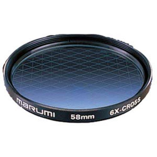MARUMI カメラ用 フィルター 6Xクロス 52mm 光条効果 フィルター 204071