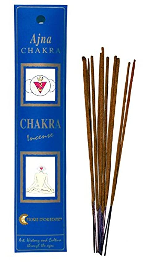 追い越す好み内なるFiore d 'oriente 6th Chakra Incense Ajna 8のスティックインディゴパッケージ