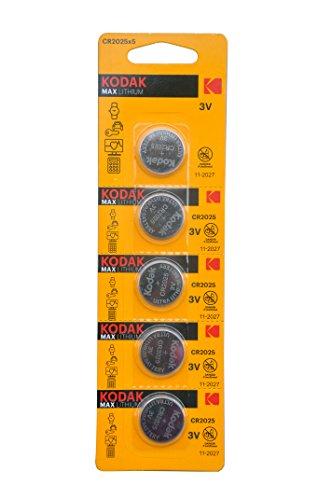 KODAK リチウム電池 CR2025 5個セット