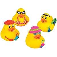 Rhode Island Novelty 2 Beach Rubber Duck (12 Piece) by Rhode Island Novelty [並行輸入品]