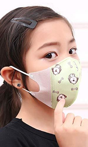 子供用 使い捨てマスク 3D 25枚 (5枚×5袋) コスパ...
