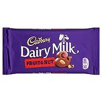 Cadbury Dairy Milk Fruit & Nut (200g) キャドバリー酪農牛乳フルーツとナッツ( 200グラム)