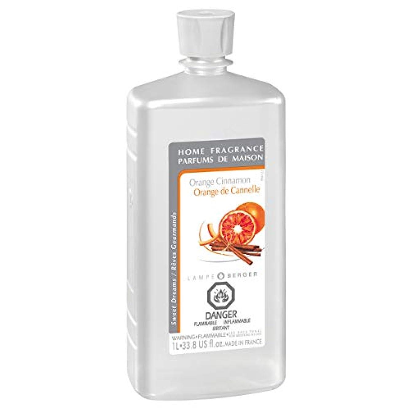 Lampe Berger Fragrance, 33.8 Fluid Ounce, Orange Cinnamon by Lampe Berger